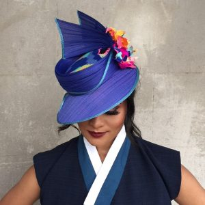 Kate Ghedina - Winner of the Peoples choice - MIMC - Millinery.Info.JPG