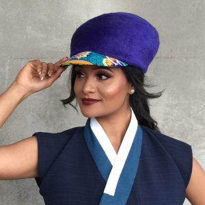 Lys Stevens - Winner of the Streetwear category - MIMC - Millinery.Info.JPG