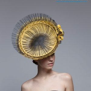 Wendy Diggles2 - The Millinery Association of Australia - MAA Design Award 2019 - Millinery.Info