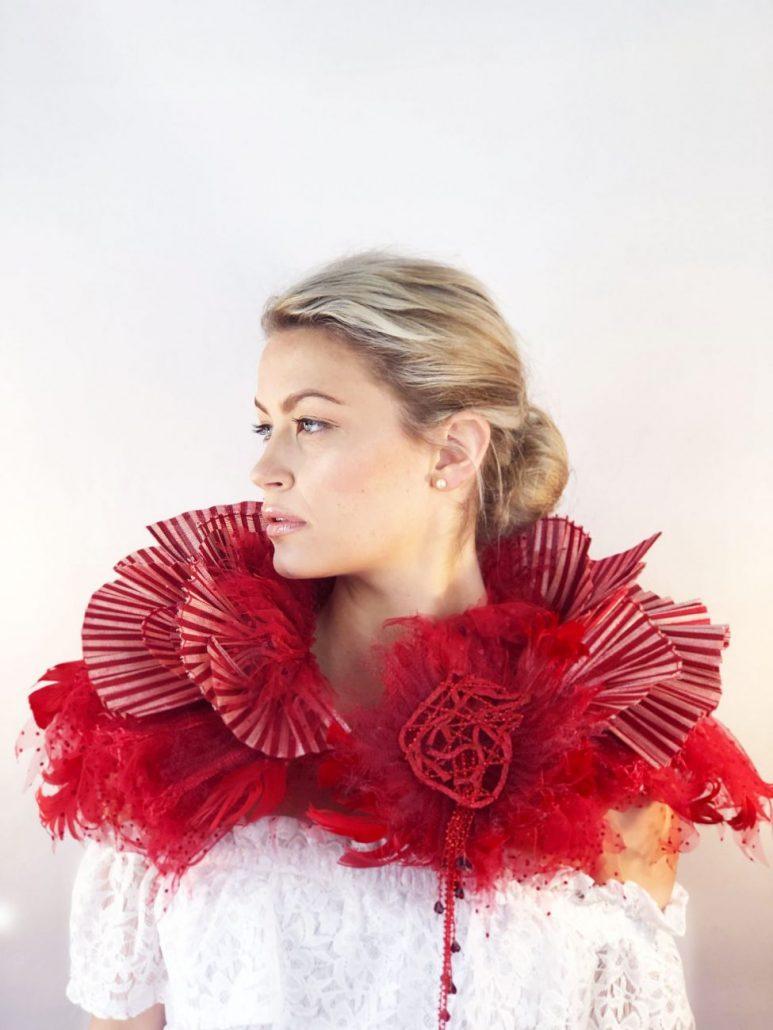 2019 Hattember Winners Wearable Art 1st Prize - Rachel Cherry