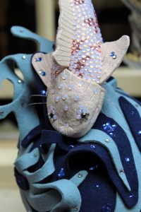Third Place - The Worshipful Company of Feltmakers of London Design Award 2018 - Image by Millinery (2)