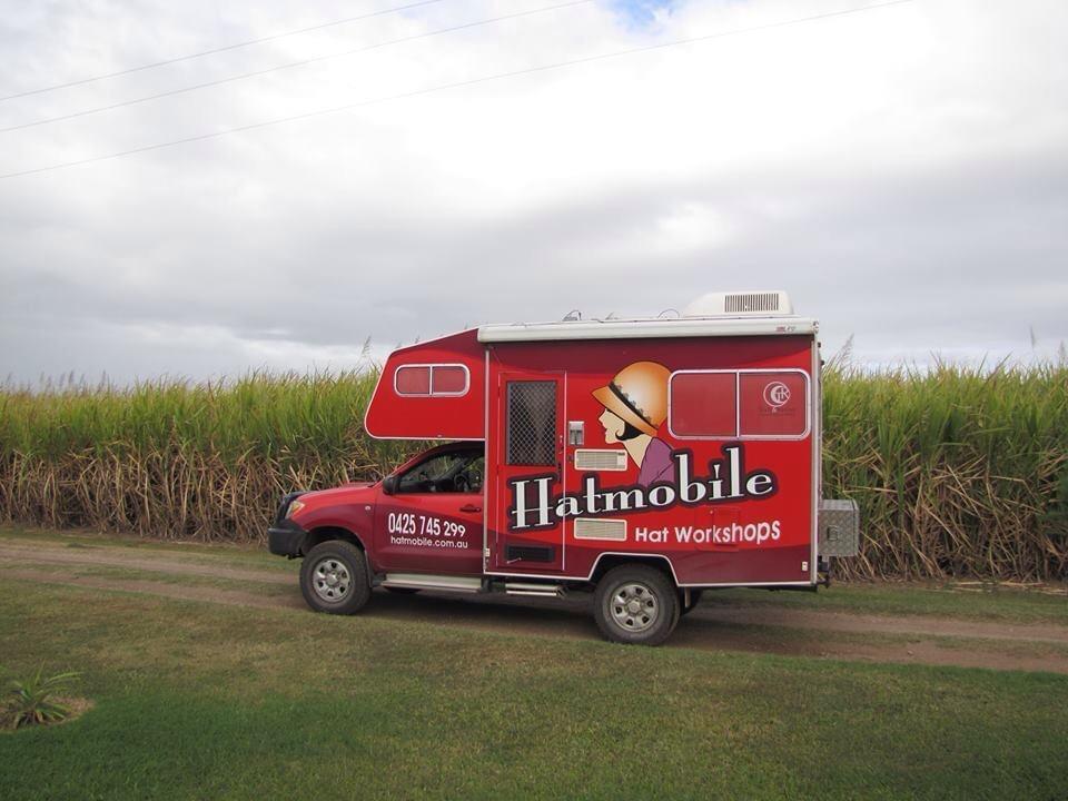 Audrey the Hatmobile