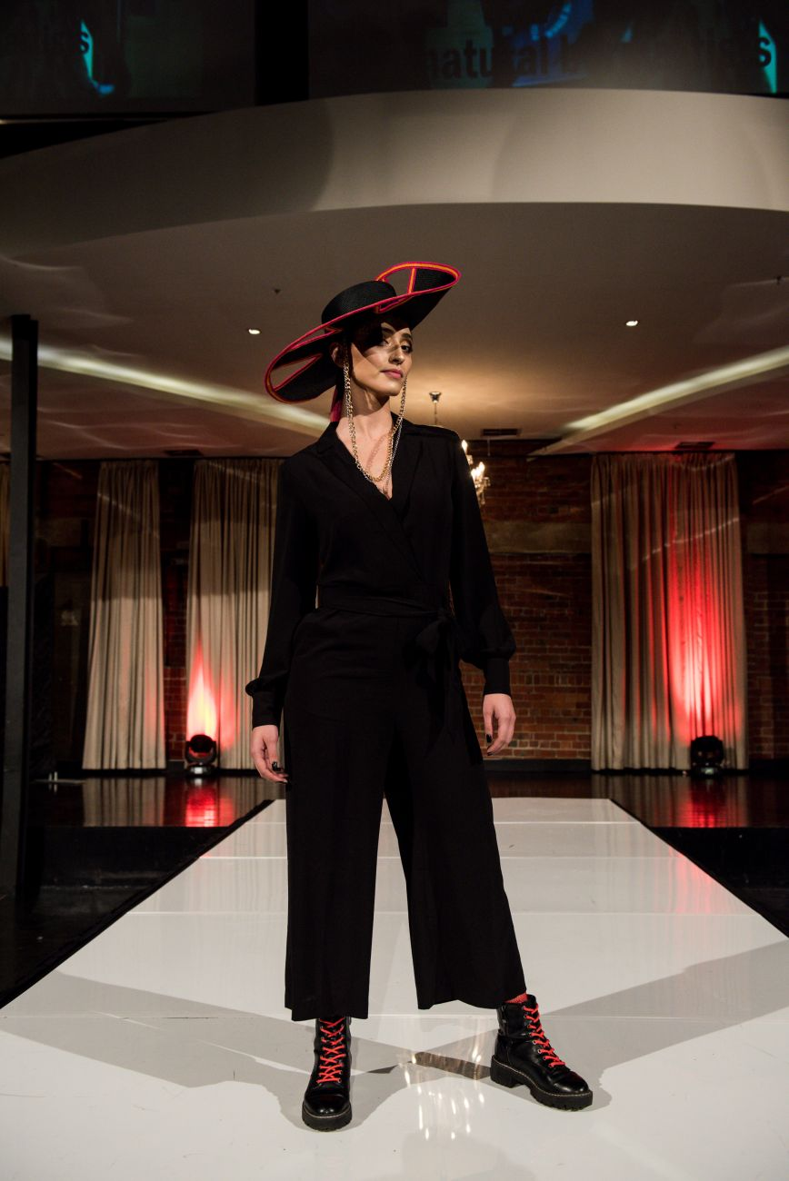 Raw Defiance Runway - Laura Dunnington - Contempromental - Millinery.Info
